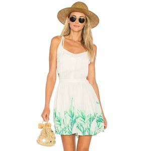 Free People Tropical Oasis Jumper Dress Size XS
